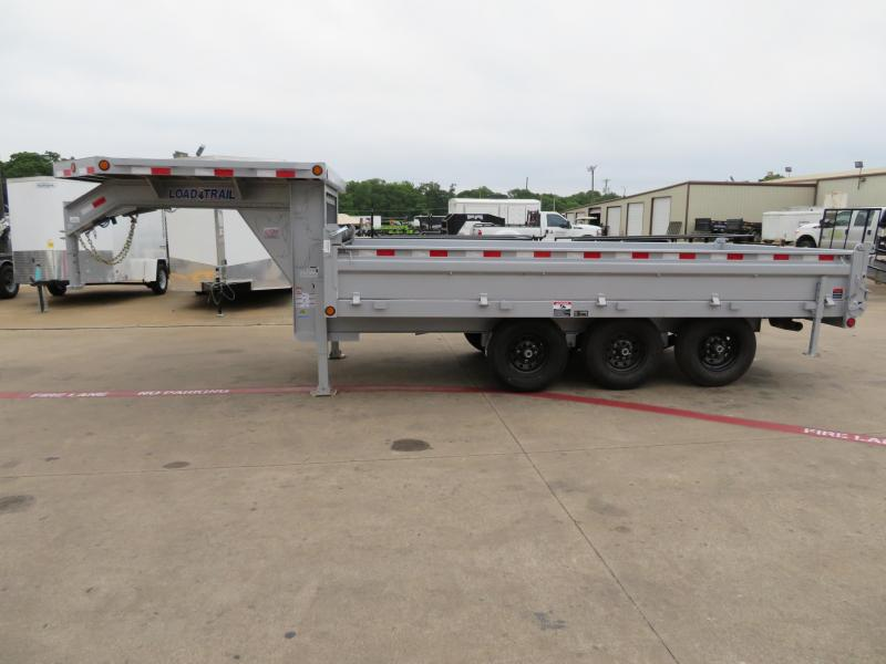 2018 Load Trail 8x16 Dump Trailer