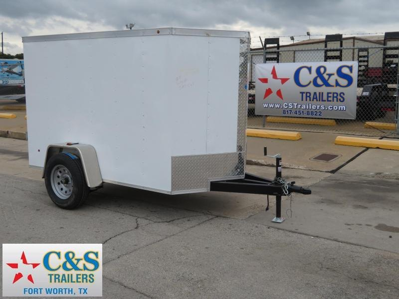 2019 Salvation Trailers 5 x 8 Enclosed Cargo Trailer