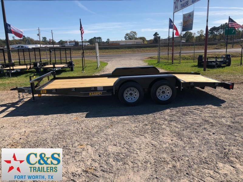 2018 Kearney 83x18 BPTA Car / Racing Trailer