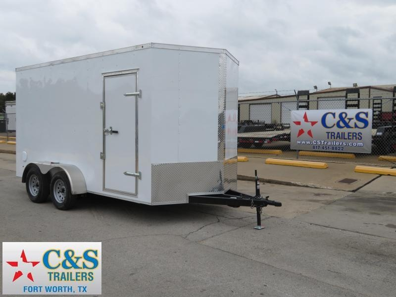 2019 Salvation Trailers 7 x 16 Enclosed Cargo Trailer