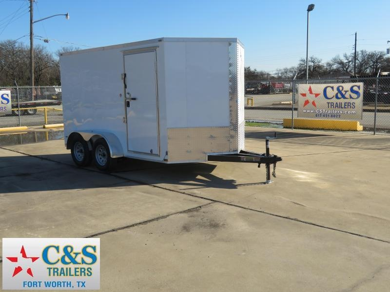 2019 Lark 7 x 12 Enclosed Cargo Trailer