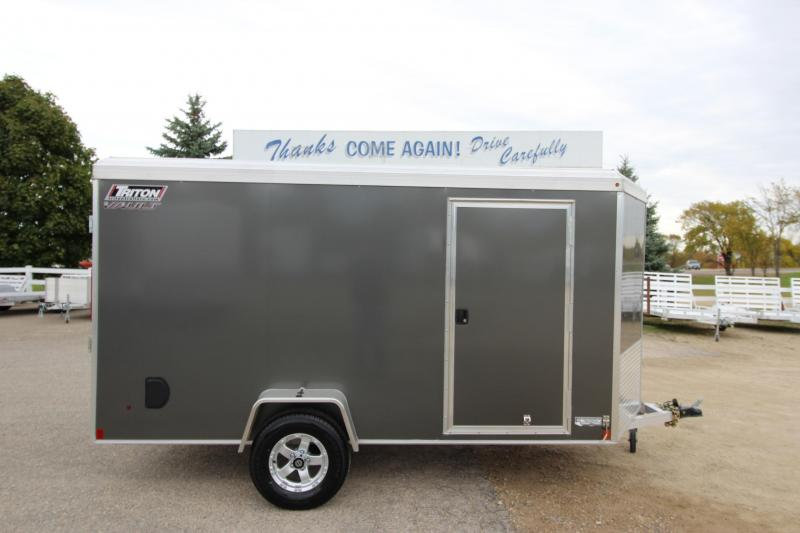 2018 Triton Vault 6x12 Enclosed Cargo Trailer