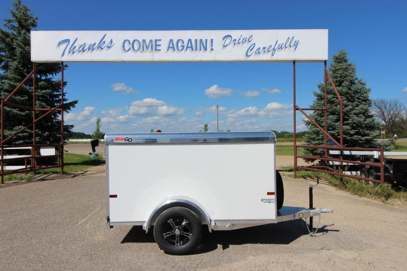 2020 Sundowner Trailers 5x8 Mini Go Enclosed Cargo Trailer