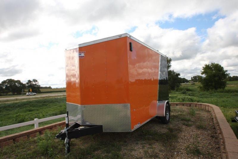 2016 American Hauler 7x12 enclosed trailer.