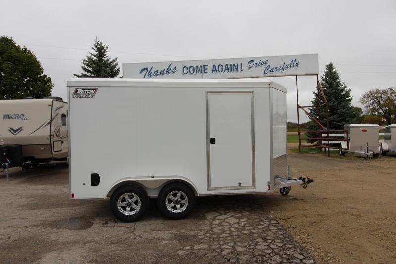 2019 Triton Vault 7x12 Enclosed Cargo Trailer
