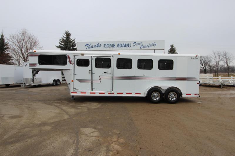 2000 Silver Lite 4HR GN Horse Trailer