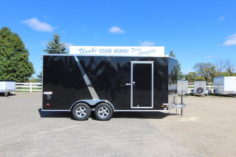 2019 Bravo Trailers Scout 7x16 Aluminum Enclosed Cargo Trailer