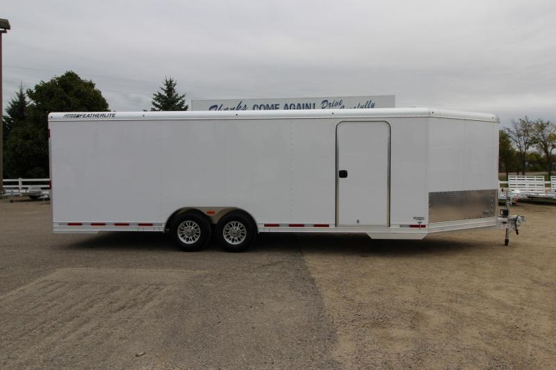 2018 Featherlite 4926 8.5 X 24' Car / Racing Trailer