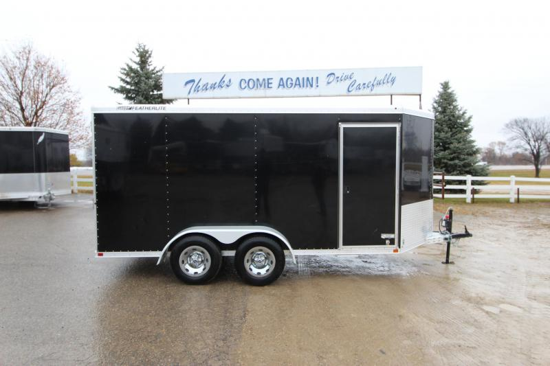2013 Featherlite 1610 14 Enclosed Cargo Trailer