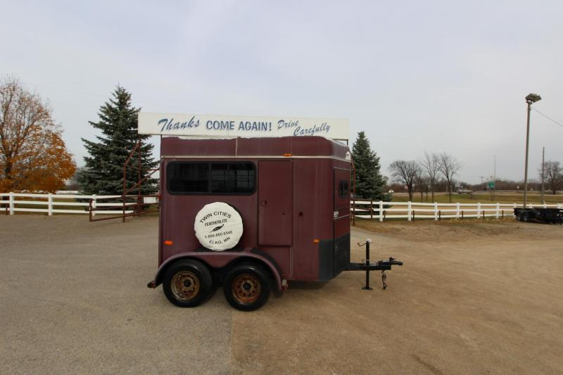 1997 Sundowner Trailers 2HR BP Horse Trailer