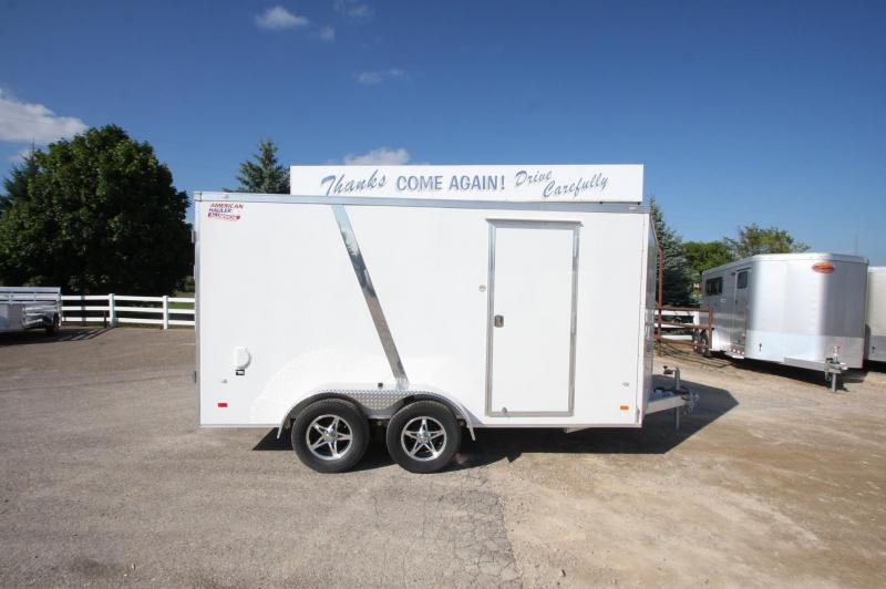 2017 American Hauler Industries NightHawk 7x14 Aluminum Enclosed Cargo Trailer