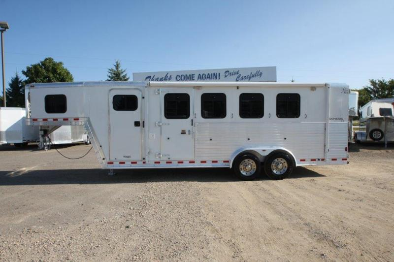2002 Kiefer 4 horse with Weekender