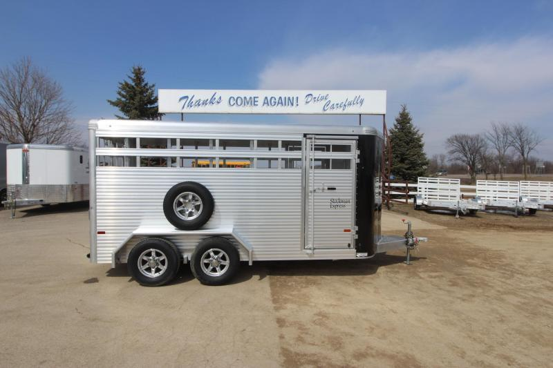 2018 Sundowner Trailers Stockman 16 BP Livestock Trailer