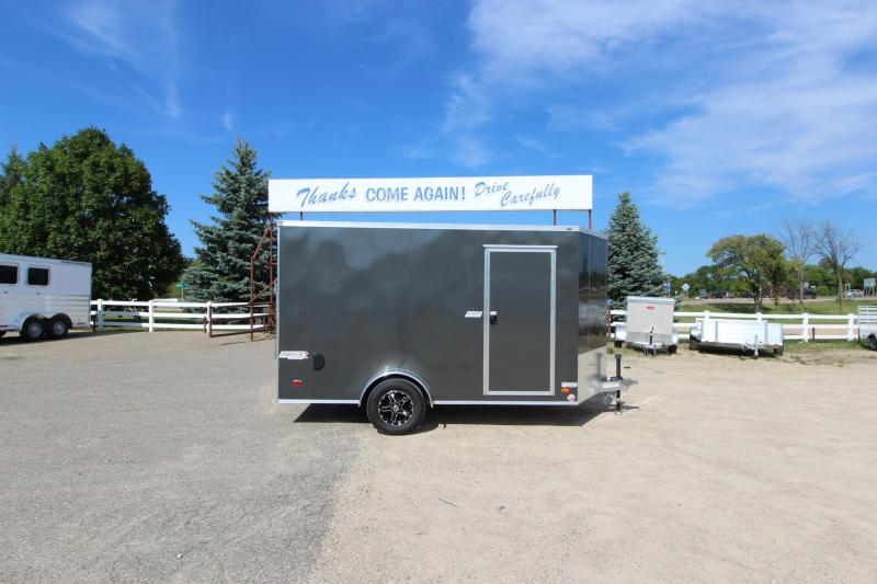 2019 Bravo Trailers 7x12 Aluminum Enclosed Cargo Trailer