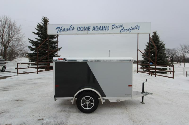 2019 Sundowner Trailers Mini Go 4x8 Enclosed Cargo Trailer