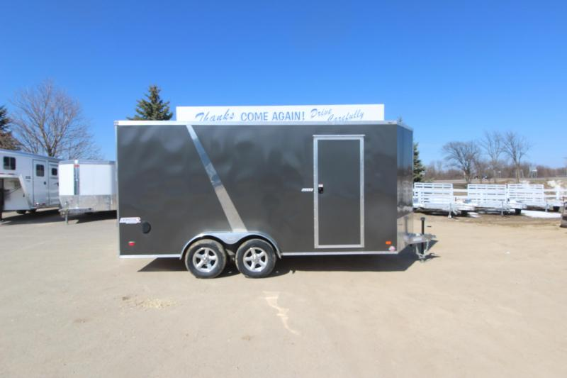 2019 Bravo Trailers Alum Scout 7x16 Enclosed Cargo Trailer