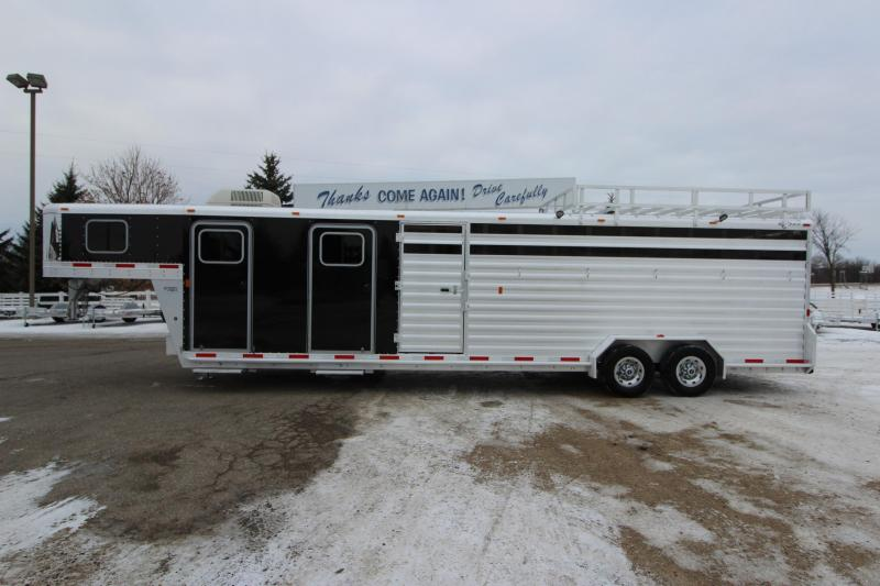 2013 Exiss Trailers 30 GN Livestock Trailer