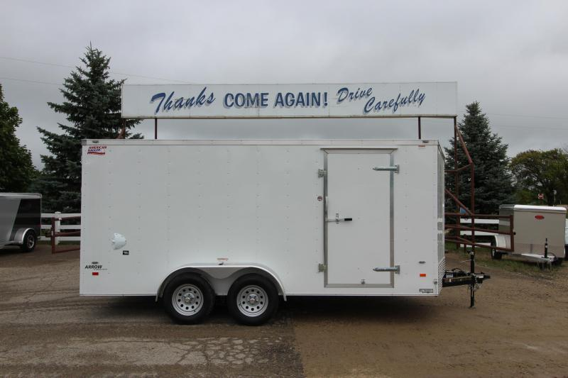2019 American Hauler Industries 7x16 Enclosed Cargo Trailer