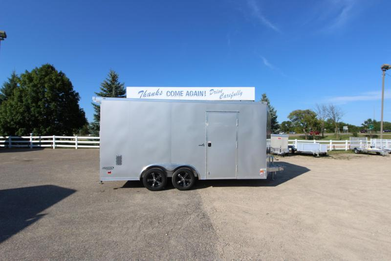 2019 Bravo Trailers 8.5x16 Aluminum Car / Racing Trailer