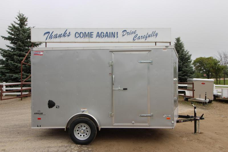 2019 American Hauler Industries Arrow 6x12 Enclosed Cargo Trailer