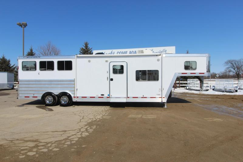 2012 Featherlite 8581 3HR 12.5 LQ Horse Trailer