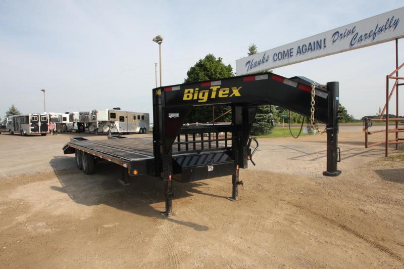 2013 Big Tex Trailers 14GN 20 5 Flatbed Trailer