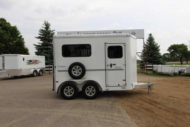 2019 Sundowner Trailers 2HR Straight Load BP Horse Trailer