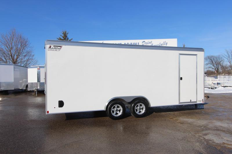 2018 Triton Trailers 8x20 Car / Racing Trailer