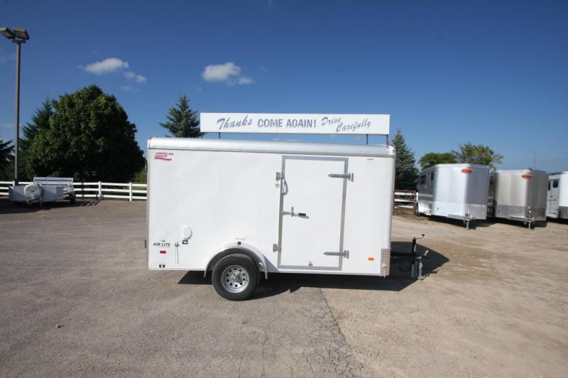 2017 American Hauler Industries AirLite 6x12 Enclosed Cargo Trailer