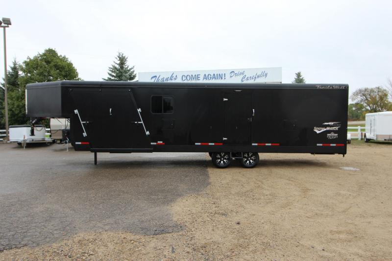 2019 Trails West Manufacturing RPM 28 Snowmobile Trailer