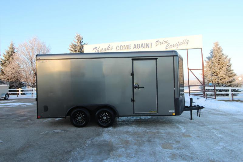 2015 H&H 8x16 BP Enclosed Cargo Trailer