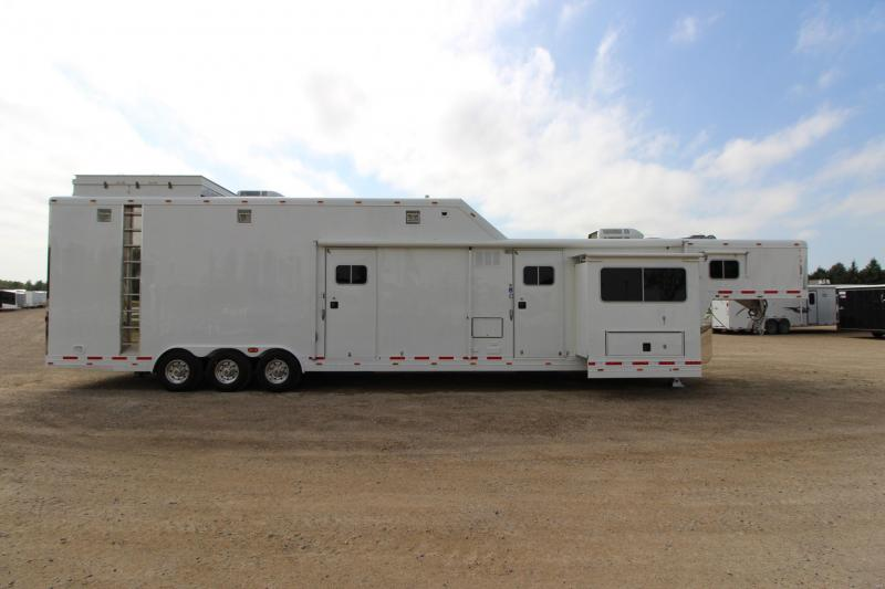Used Featherlite Enclosed Car Haulers For Sale