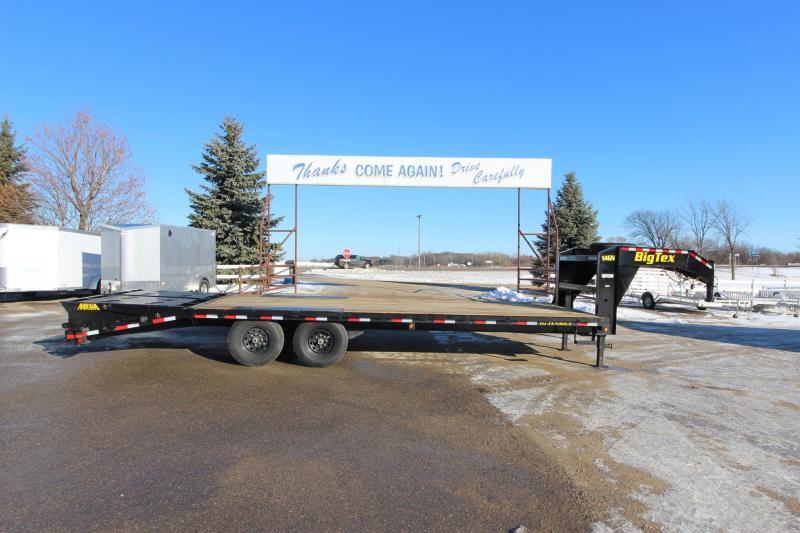 2019 Big Tex Trailers 14GN 205 Flatbed Trailer