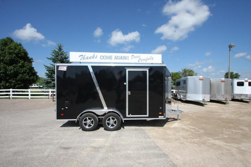 2017 American Hauler Industries 7x14 BP Aluminum Enclosed Cargo Trailer