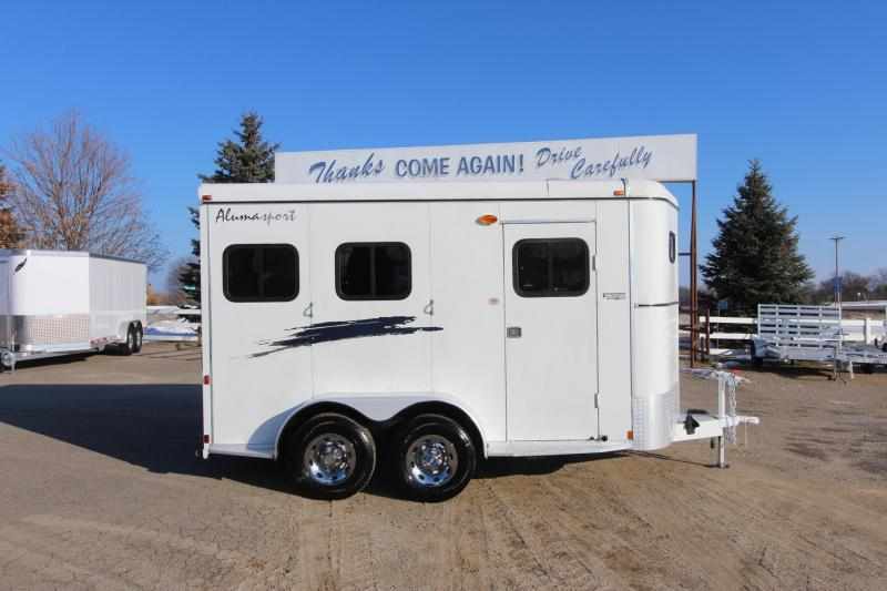 2002 Bison Trailers 2HR BP Horse Trailer