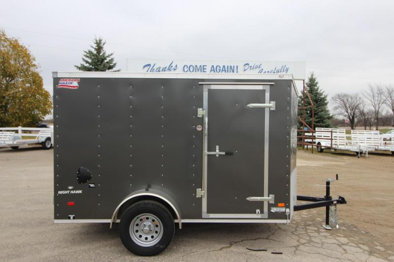 2018 American Hauler Industries Night Hawk 6 x 10 Enclosed Cargo Trailer