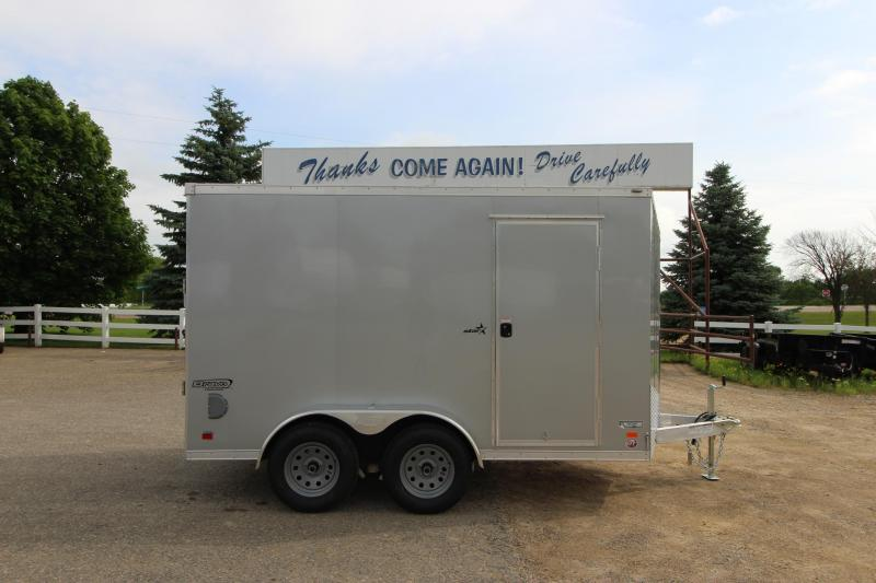 2020 Bravo Trailers Star 6x12 Enclosed Cargo Trailer