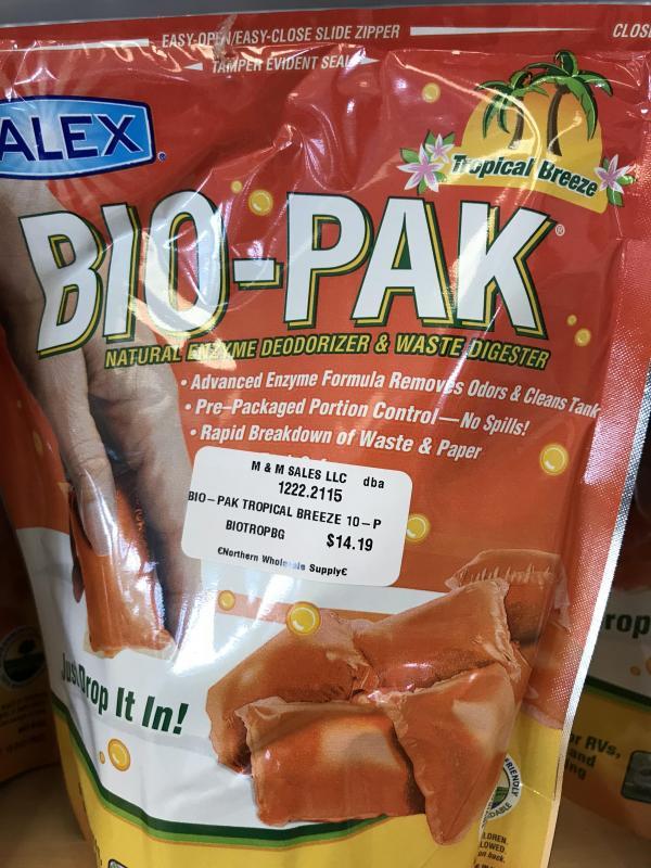 Bio-Pak Enzyme deodorizer