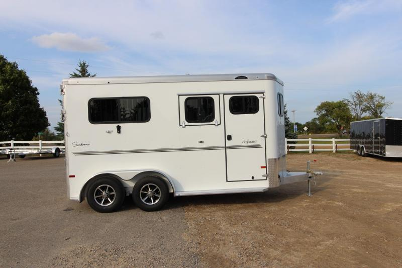 2018 Sundowner Trailers Performer 2HR Straight Load BP Horse Trailer