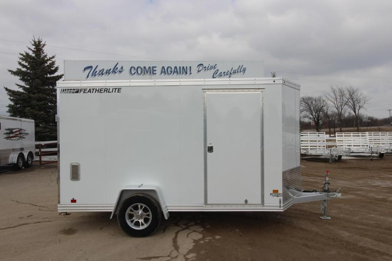 2017 Featherlite 1620 6x12 Enclosed Cargo Trailer