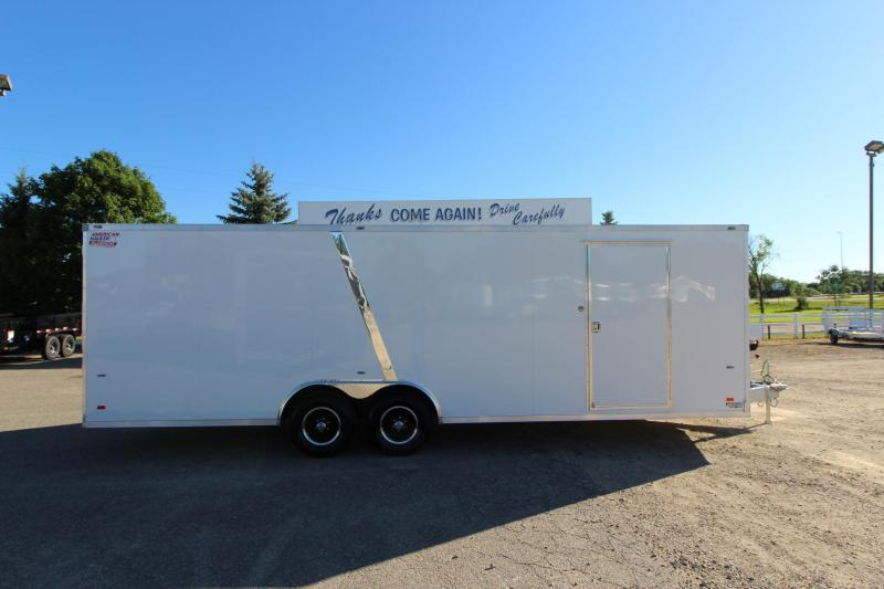 2018 American Hauler Industries Night Hawk 8.5 x 24 Car / Racing Trailer