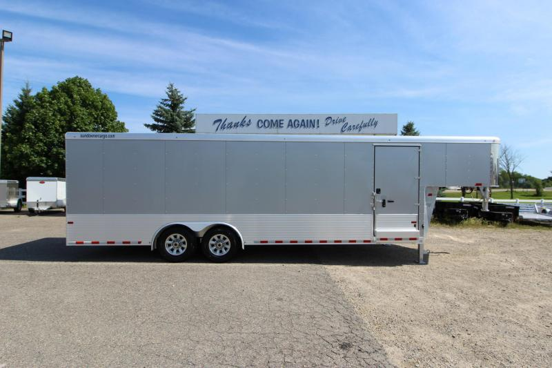 2017 Sundowner Trailers 24' GN Car / Racing Trailer