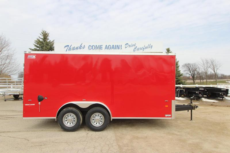 2019 American Hauler Industries NightHawk 8x16 Enclosed Cargo Trailer