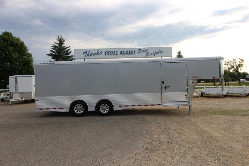 2019 Sundowner Trailers XTRA 24 GN Car / Racing Trailer