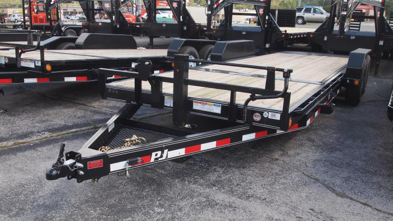 "2019 PJ Trailers 22'x83"" equipment tilt Equipment Trailer"