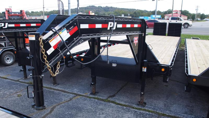 2019 PJ Trailers 40 GN Dual Tandem Flatbed Trailer