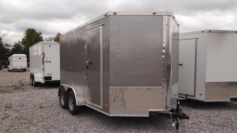 2019 Freedom Trailers 12x7 Tandem Axle Enclosed Cargo Trailer