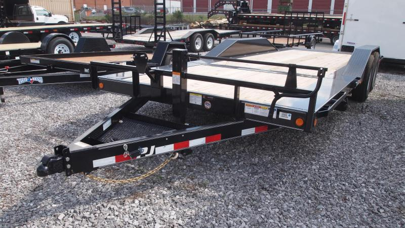 2019 PJ Trailers 20x102 Superwide Tilt Equipment Trailer
