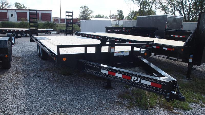 2019 PJ Trailers 22x102 F8 deckover Equipment Trailer