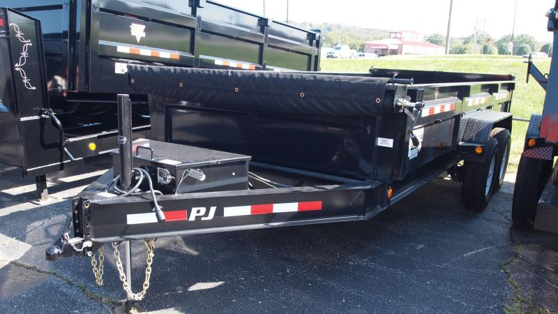 2019 PJ Trailers 16x83 DL Low Profile Dump Trailer